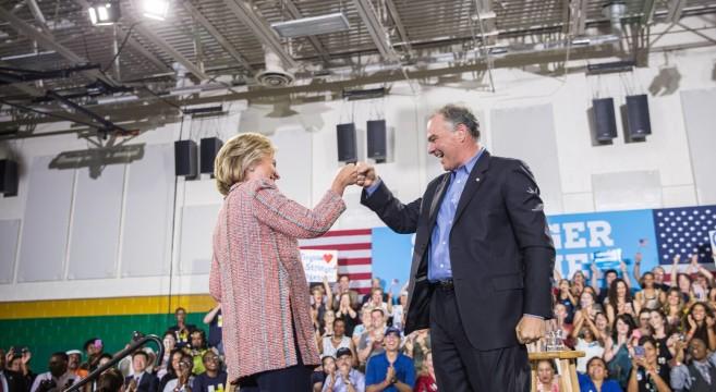 ClintonselectsKaine