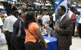 Congressman Bobby Rush Transportation Job Fair At Chicago State.