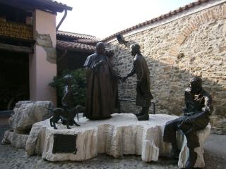 ▲イタリアのベルガモのヨハネ23世博物館(2013年9月26日、ヨハネ23世博物館で撮影)