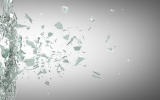22189057 - broken glass background. high resolution 3d render
