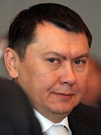 ▲カザフ共和国の駐オーストリア大使だったアリエフ氏(ウィキぺディアから)