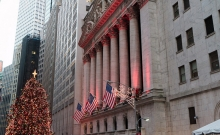Front of the New York Stock Exchange