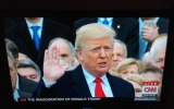 trump@inauguration from CNN