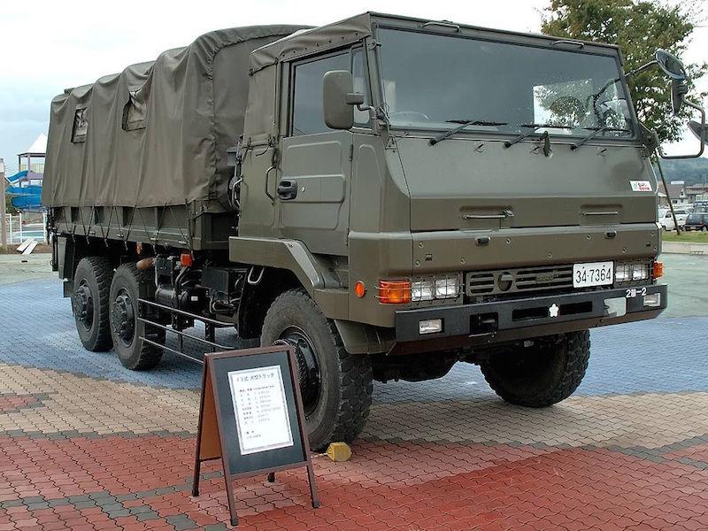 73式大型トラック wiki 1024px-JGSDF_73_Ougata_Truck_(ISUZU)_1