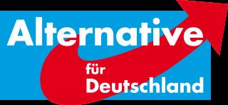 ▲ドイツの新党「ドイツのための選択肢」の党のロゴ