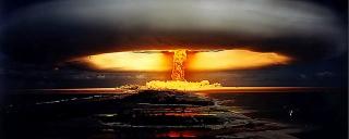 ▲フランスの1971年の核実験(包括的核実験禁止条約機構=CTBTのHPから)