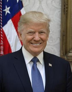 ▲トランプ米大統領 ホワイトハウスの公式写真 ウィキぺディアから