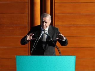 ▲ケルンのイスラム寺院献堂式で語るエルドアン大統領(2018年9月29日、ドイツ・ケルンで、トルコ大統領府公式サイトから)
