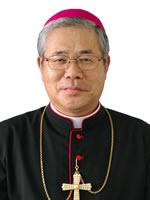 ▲日本教会の唯一の枢機卿、前田万葉枢機卿(日本カトリック中央協議会公式サイトから)
