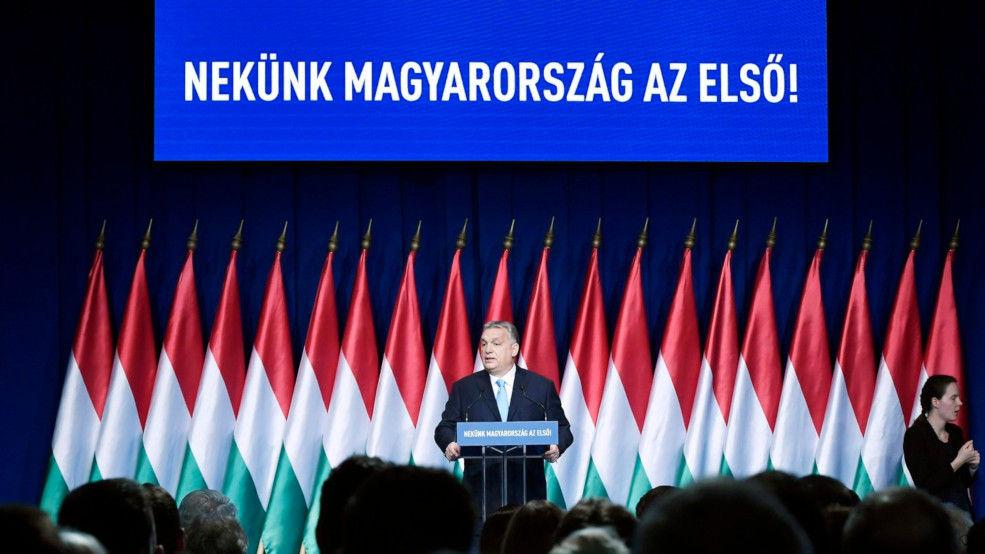 ▲ハンガリーの与党フィデスの党首、オルバン首相(フィデス公式サイトから)