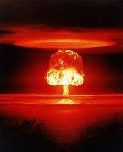 ▲核爆発(CTBTOの公式サイトから)