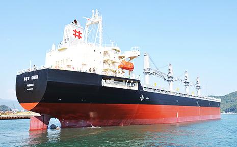 海運事業などを手掛ける乾汽船(HPより)
