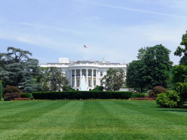 ▲第46代米国大統領を待つホワイトハウス(写真AC:編集部)