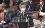 衆院予算委で立憲民主党の近藤和也氏の質問に答弁する総務省の秋本芳徳・情報流通行政局長 2021年2月15日衆議院インターネット審議中継から